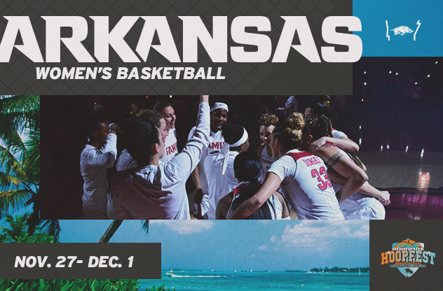 Spend Thanksgiving in Paradise with Razorback Women's Basketball!