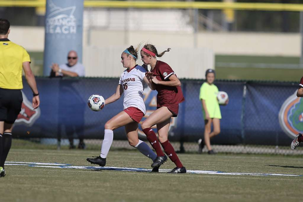 No. 6 Soccer falls in SEC Championship to South Carolina, 1-0