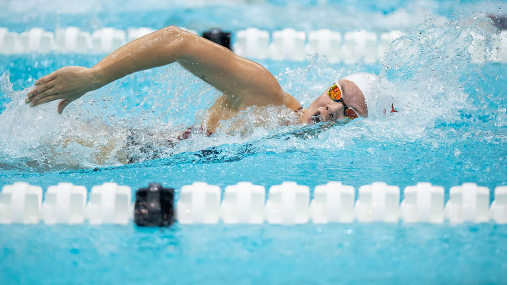 Hopkin Named SEC Women's Swimmer of the Week