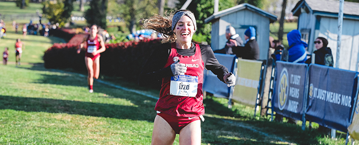 Izzo named NCAA ITF National Athlete of the Week