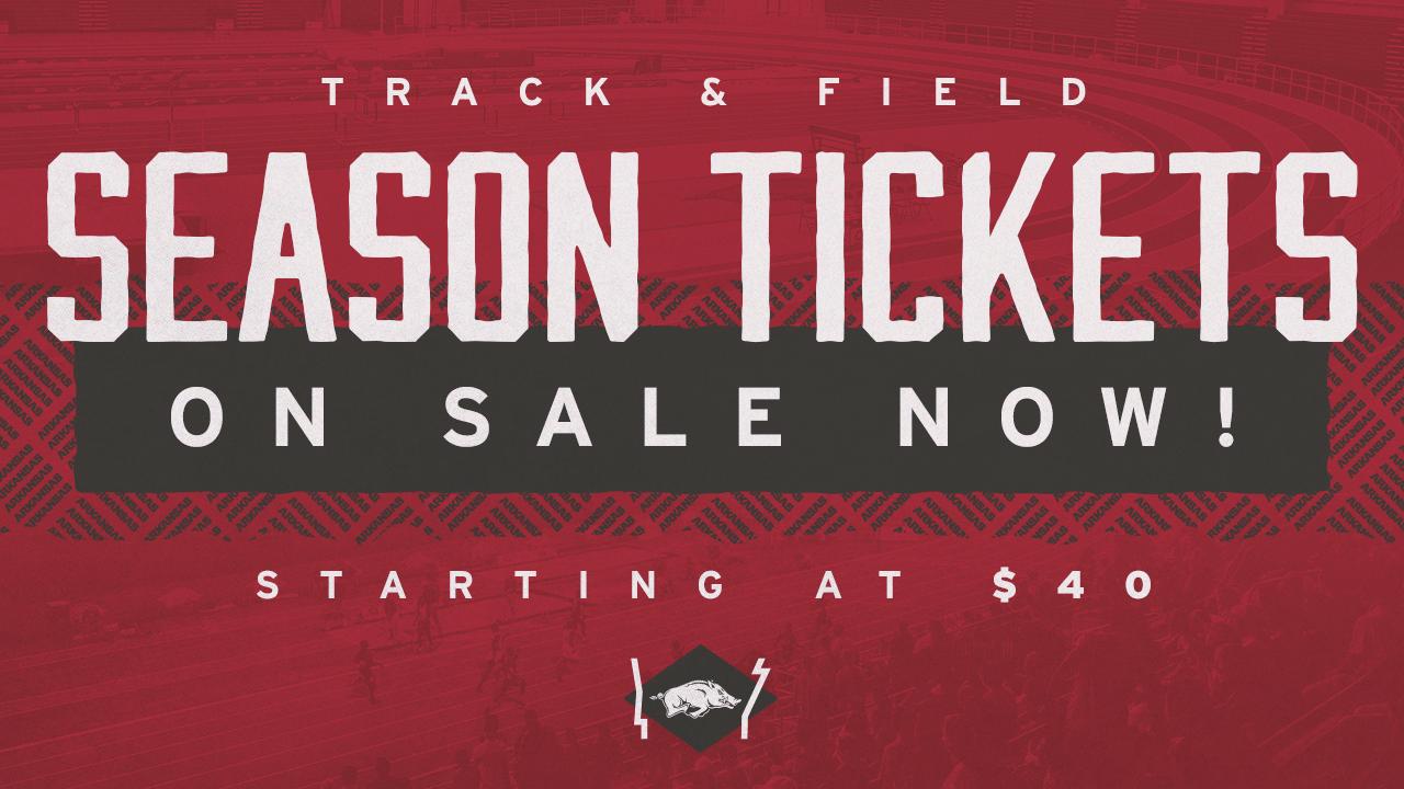Track & Field Season Tickets On Sale Now!
