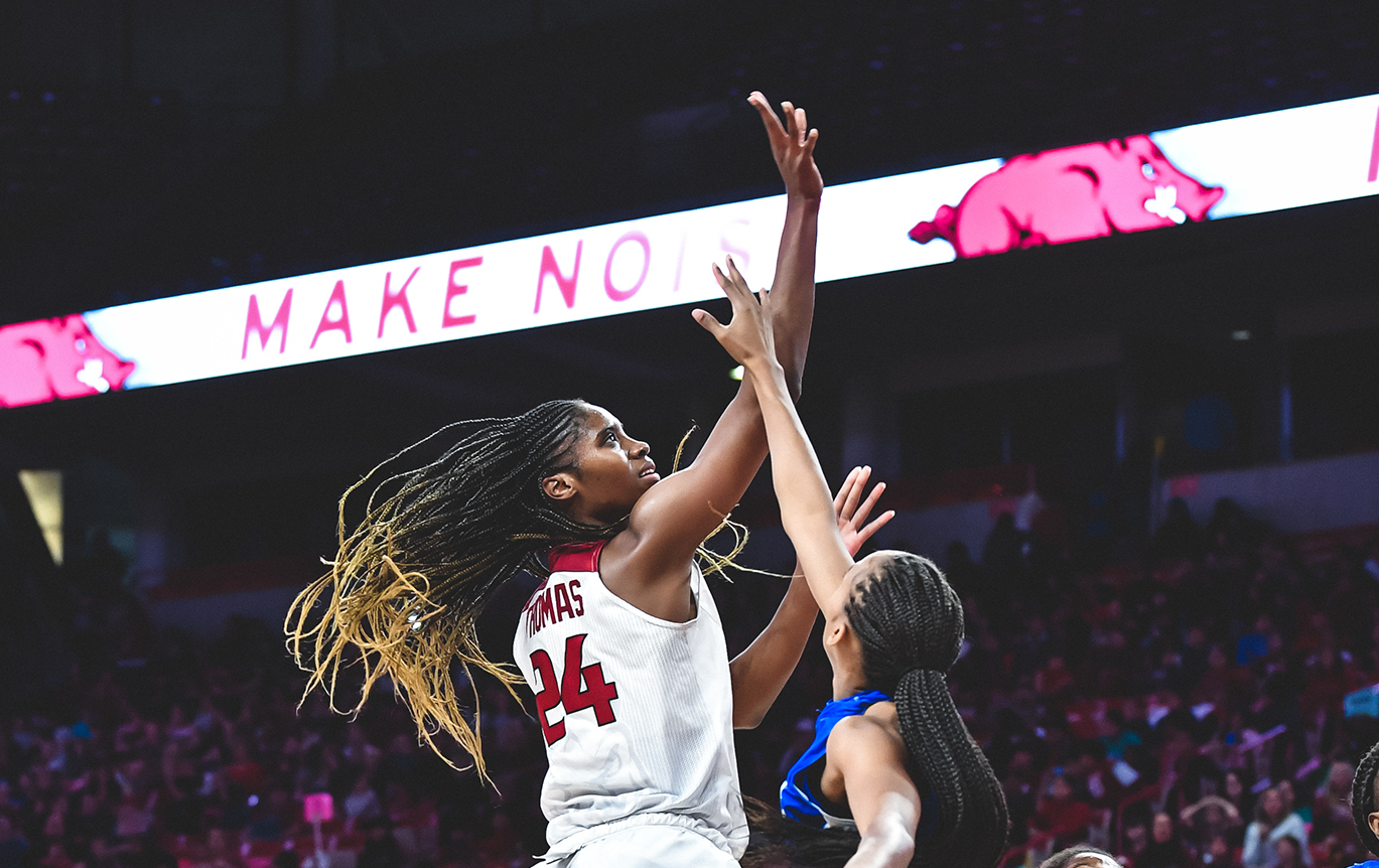 No. 22 Razorbacks Open Season With 82-52 Win Over New Orleans