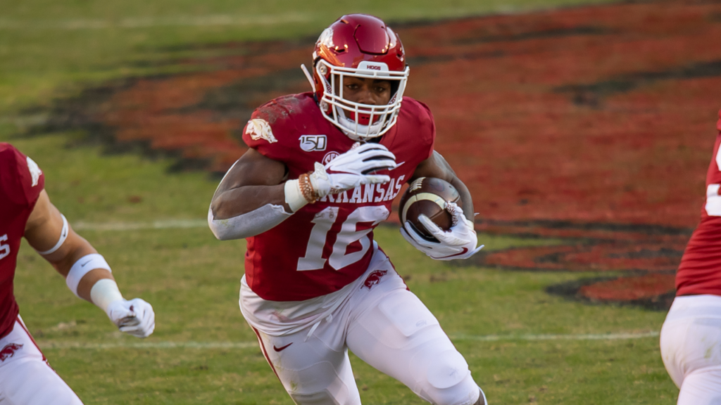 Burks Recognized on All-SEC Specialist Unit
