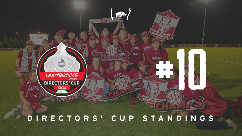 Arkansas Leads SEC and Ranks Among Nation's Best in Latest Directors' Cup Standings