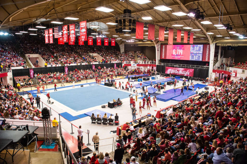 Arkansas Gymnastics 2021 Regular Season Schedule Released