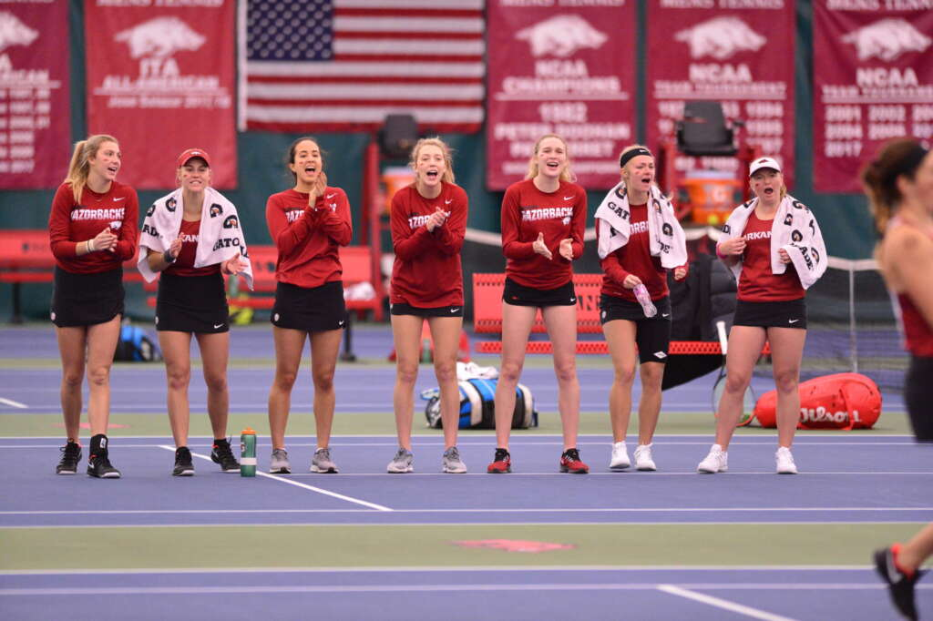 Women's Tennis battles to home opening win against Memphis, 5-2