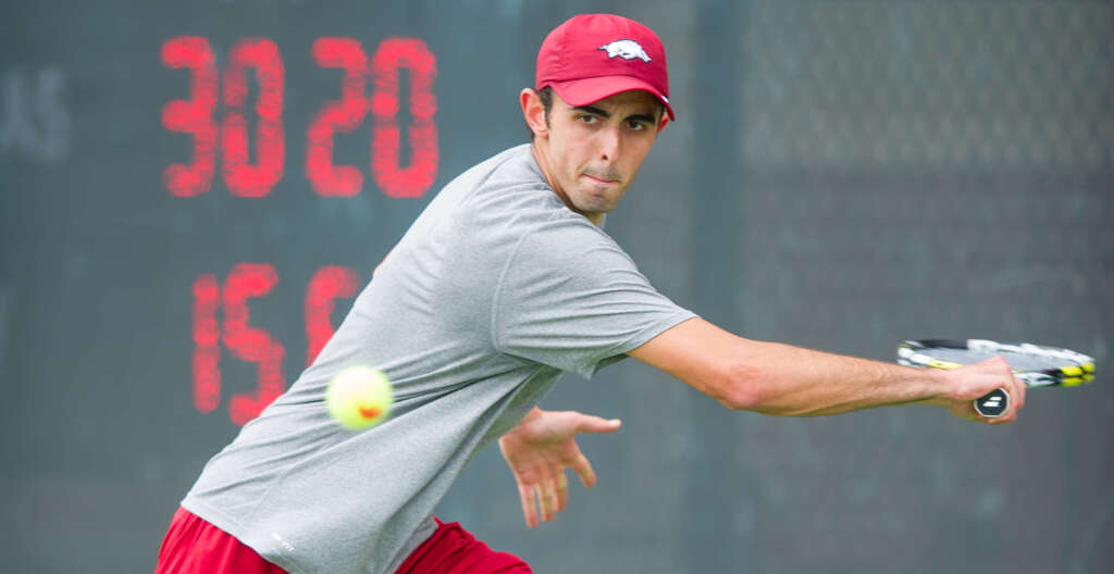 Men's Tennis brings on former Razorback Jovan Parlic as assistant coach