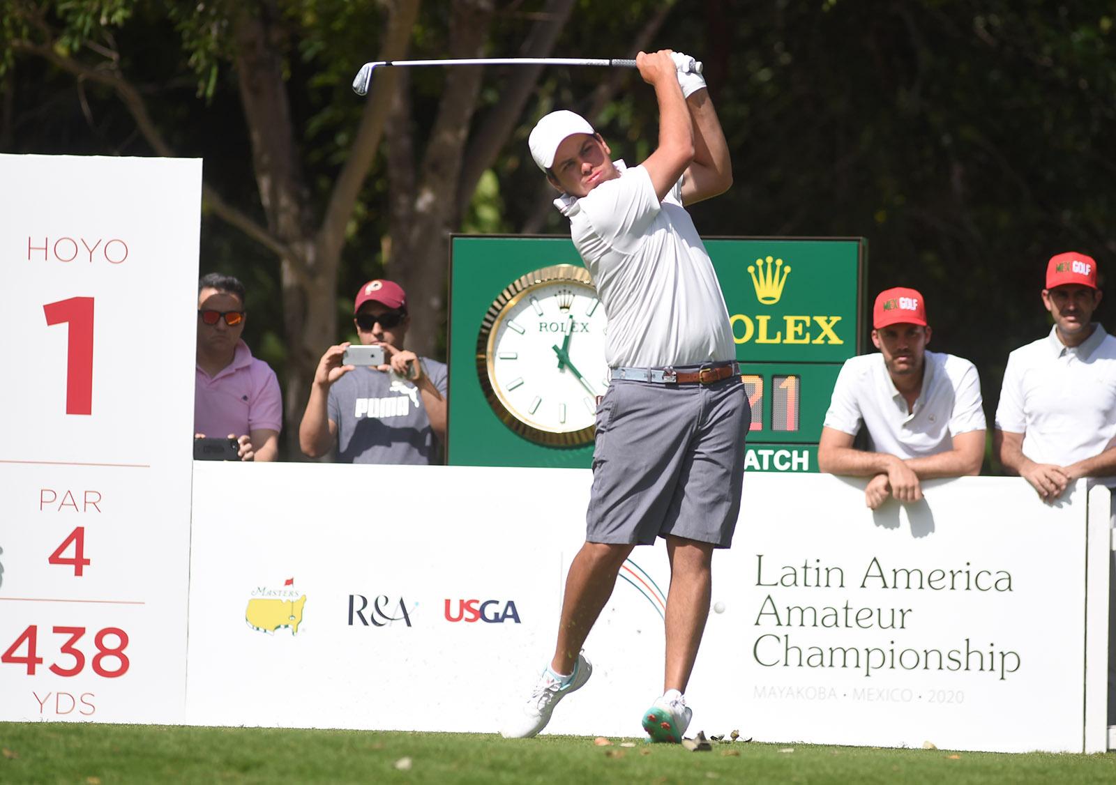 Perico Finishes 6th at Latin America Amateur