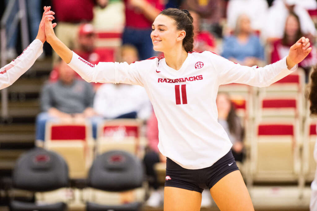 Four Hogs Invited to US Women's National Volleyball Team Open Tryouts