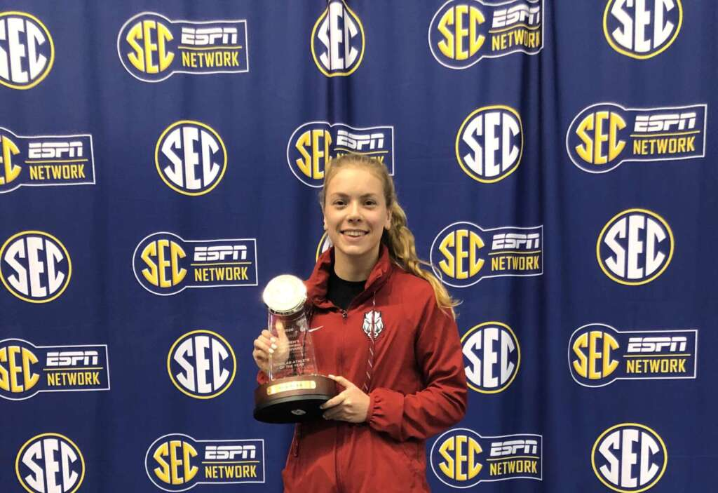 Hopkin Named 2020 SEC Swimming and Diving Scholar-Athlete of the Year
