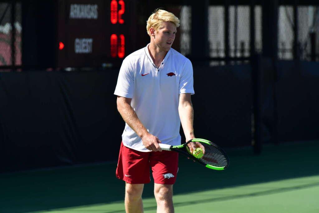 Men's Tennis sweeps UAPB in doubleheader