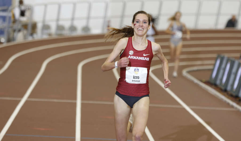 Izzo Earns SEC Indoor Runner of the Year, Harter Claims Coach of the Year