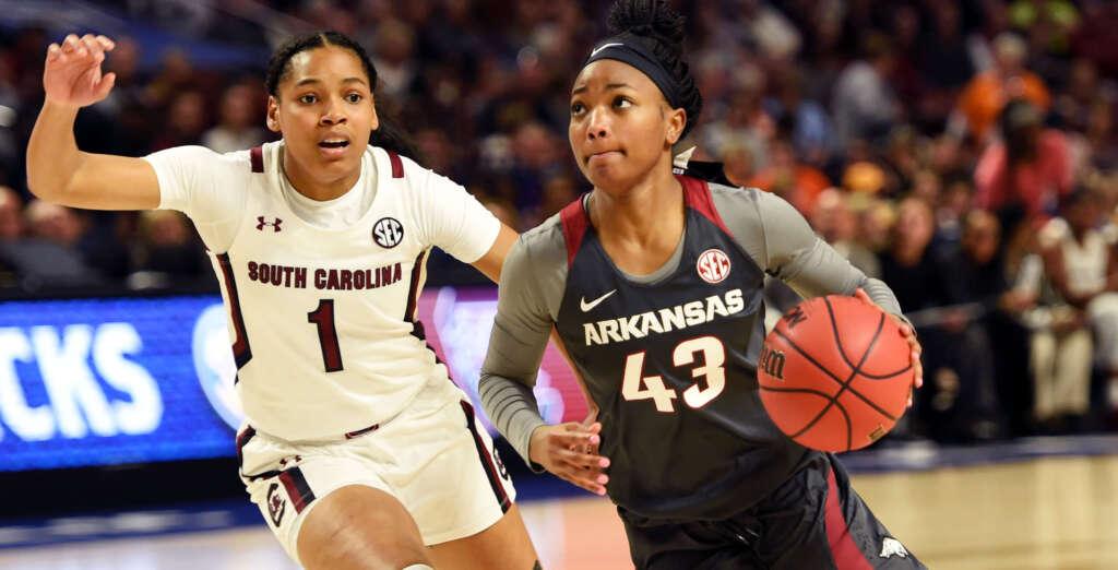 Arkansas Falls in SEC Tournament Semifinal to No. 1 South Carolina