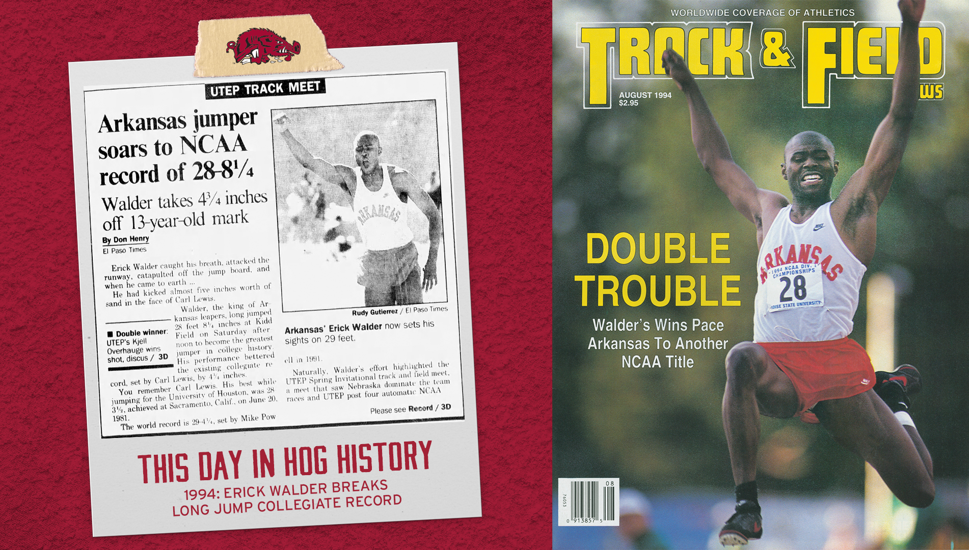 On This Day: Walder's Collegiate Long Jump Record