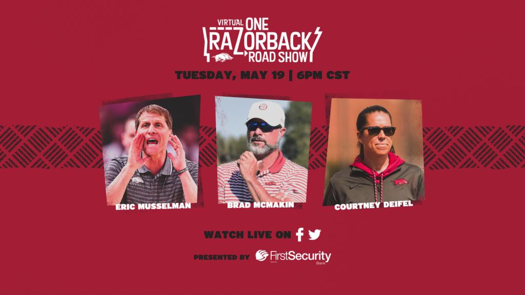 The Virtual ONE Razorback Roadshow Returns Tonight