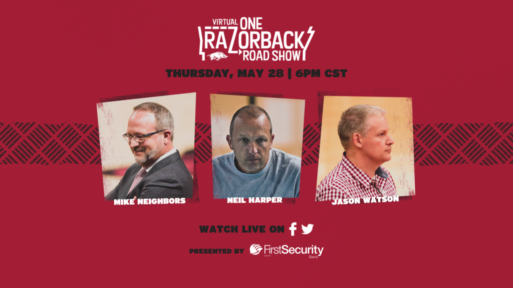 The Virtual ONE Razorback Roadshow Is Back Tonight