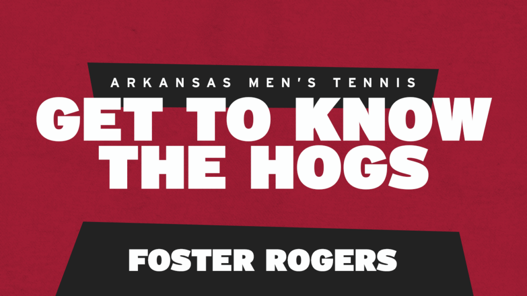 Get to Know Foster Rogers