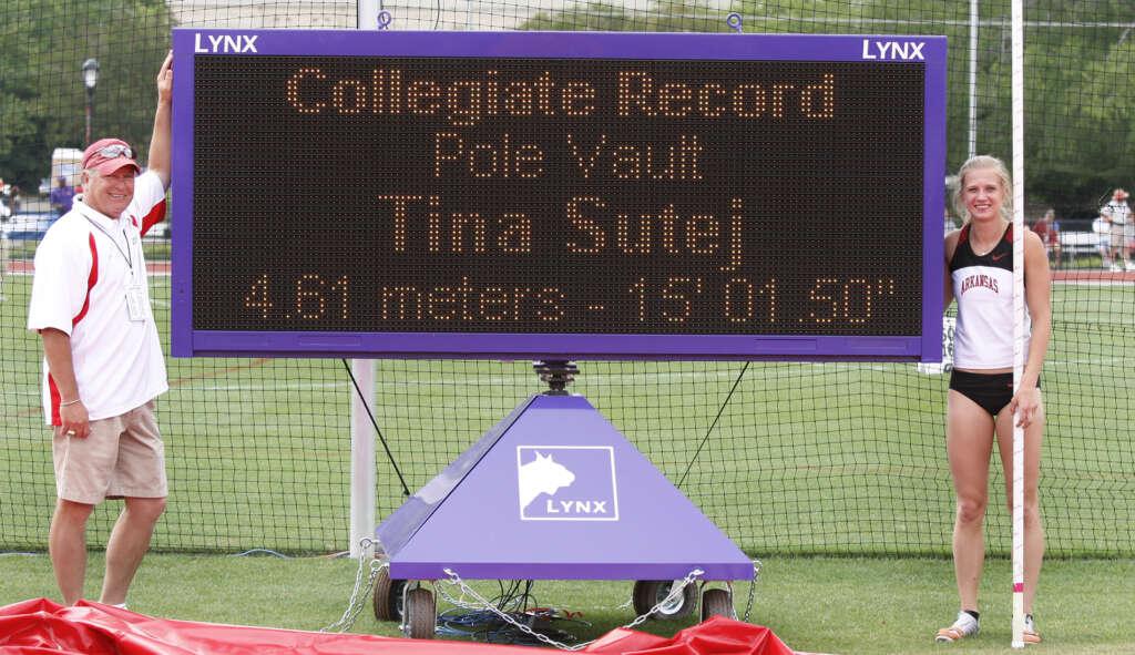 On This Day: Tina Sutej Wins SEC Title, Breaks Collegiate Record
