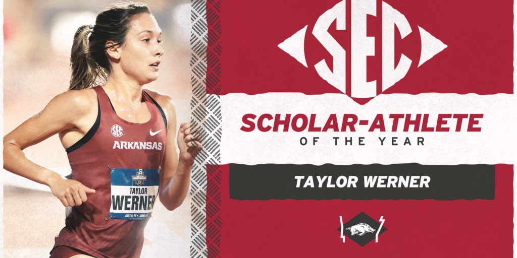 Taylor Werner Named SEC Outdoor Track and Field Scholar-Athlete of the Year