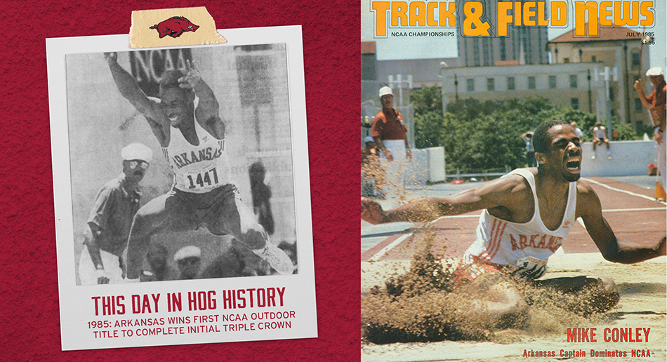 On This Day: Razorbacks first NCAA Outdoor title completes initial Triple Crown