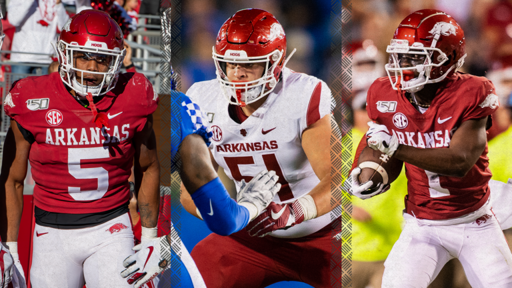 Three Razorbacks Placed on Athlon Preseason All-SEC Teams