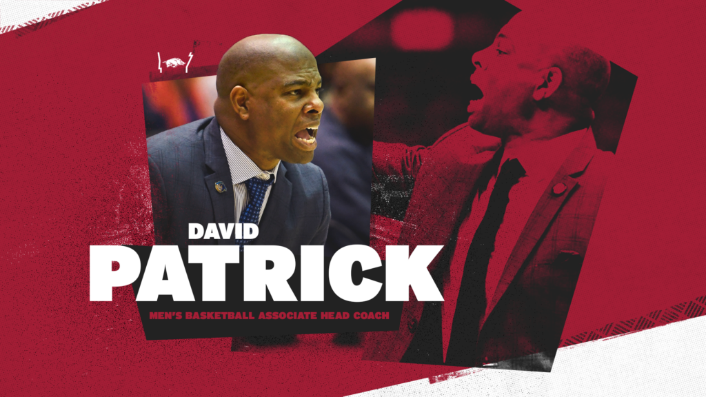 David Patrick Named Arkansas MBB Associate Head Coach