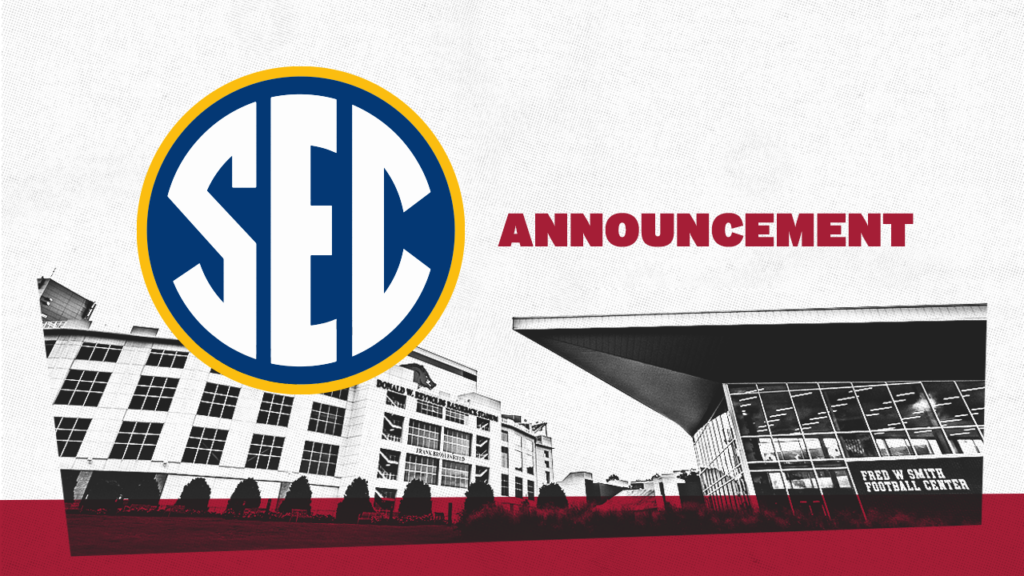 SEC Announces Plans for 10-Game Conference Football Schedule in 2020