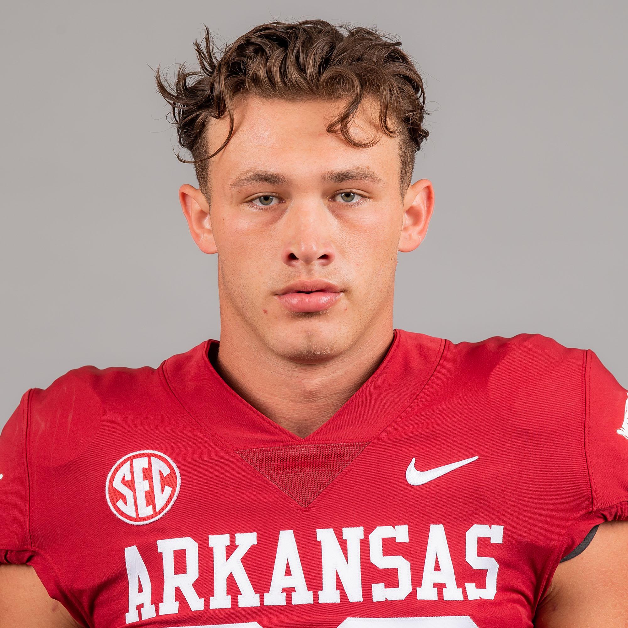 Levi Draper - Football - Arkansas Razorbacks