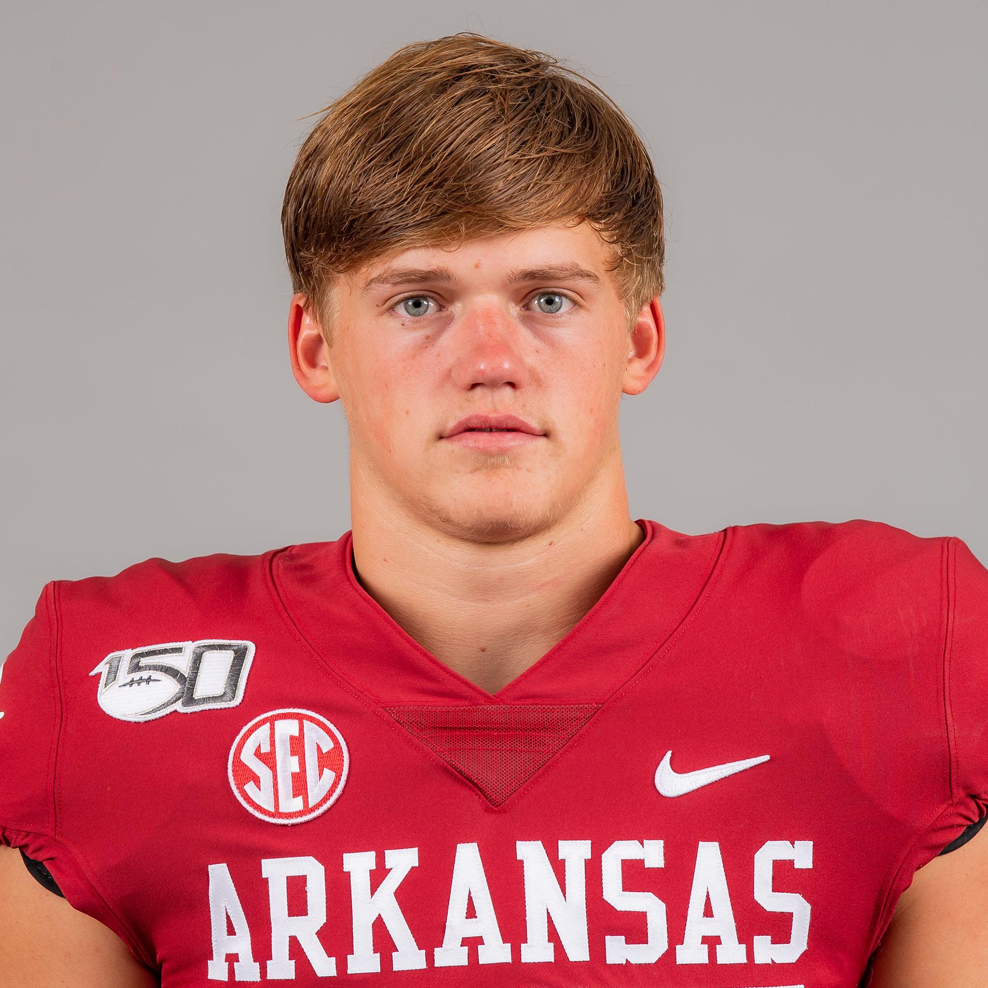 Jackson Woodard - Football - Arkansas Razorbacks