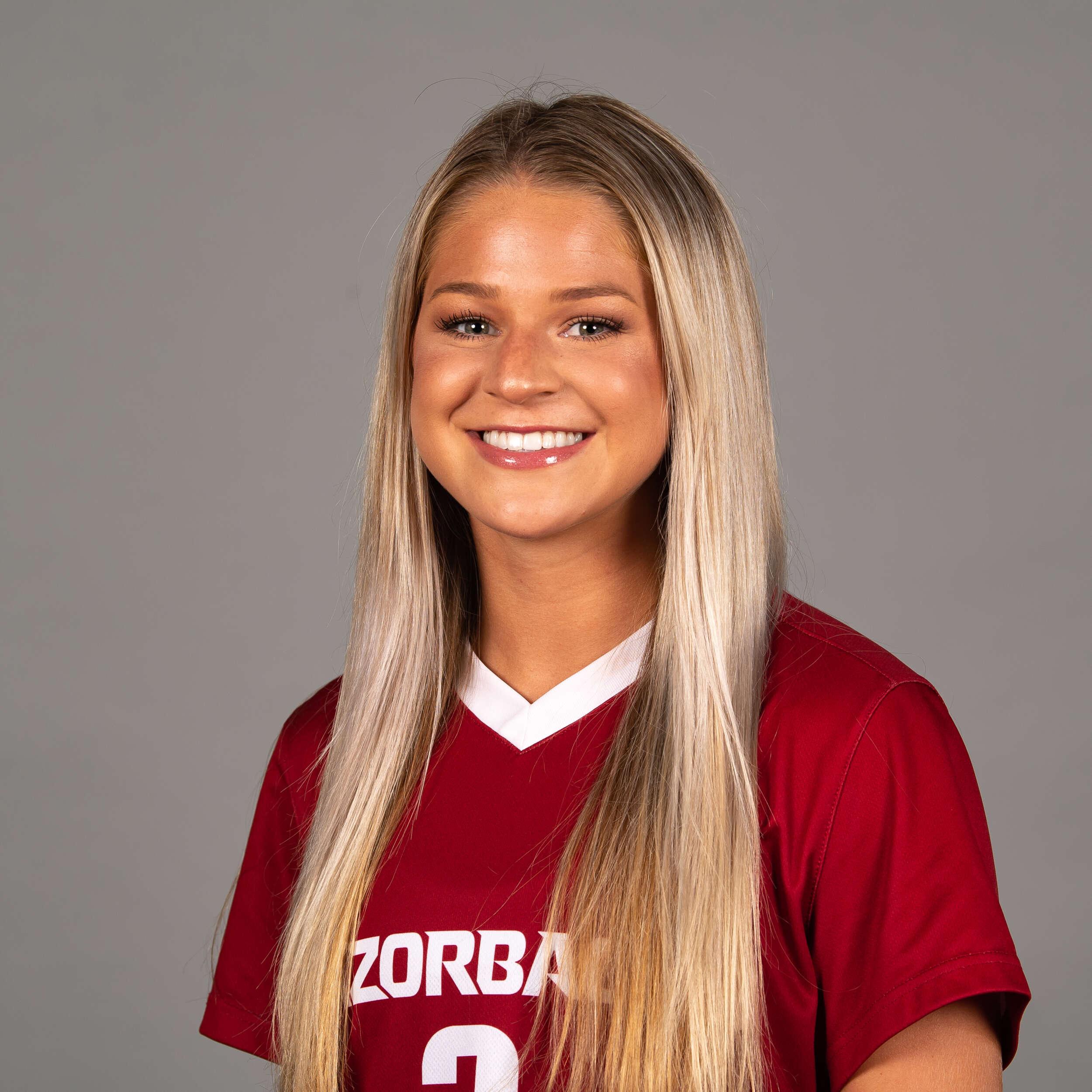 Ainsley Jeffrey - Soccer - Arkansas Razorbacks
