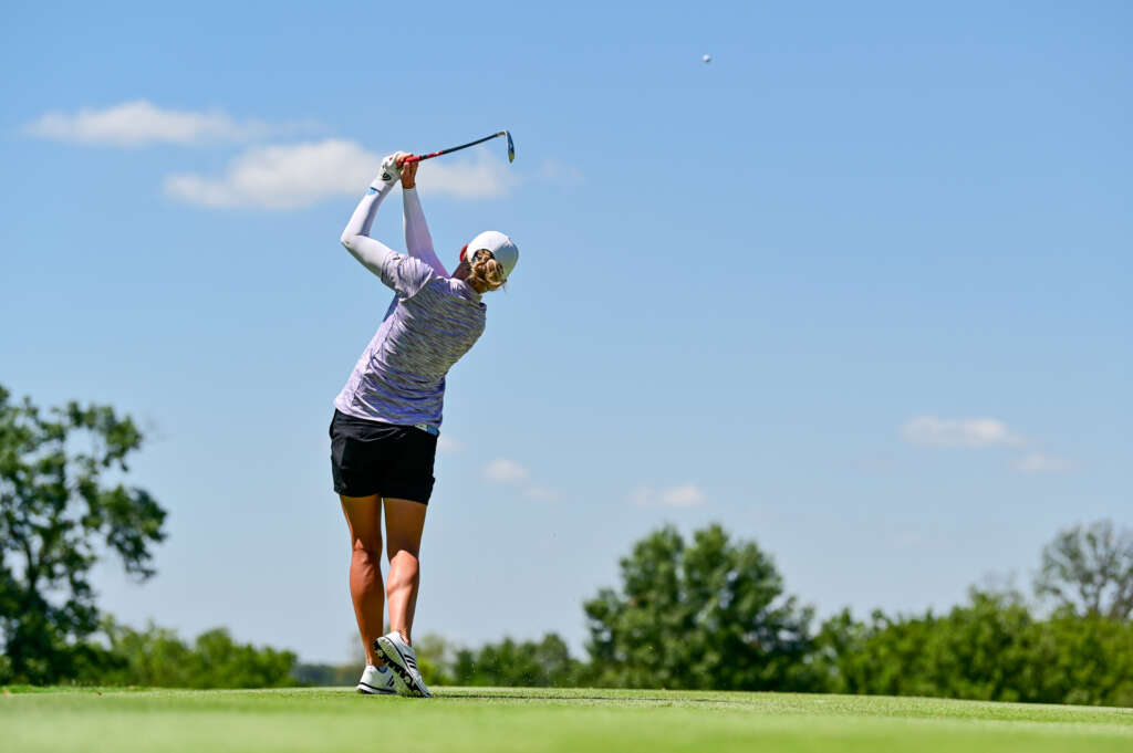 Fassi, Lewis Lead Razorbacks on Day Two of the NW Arkansas Championship