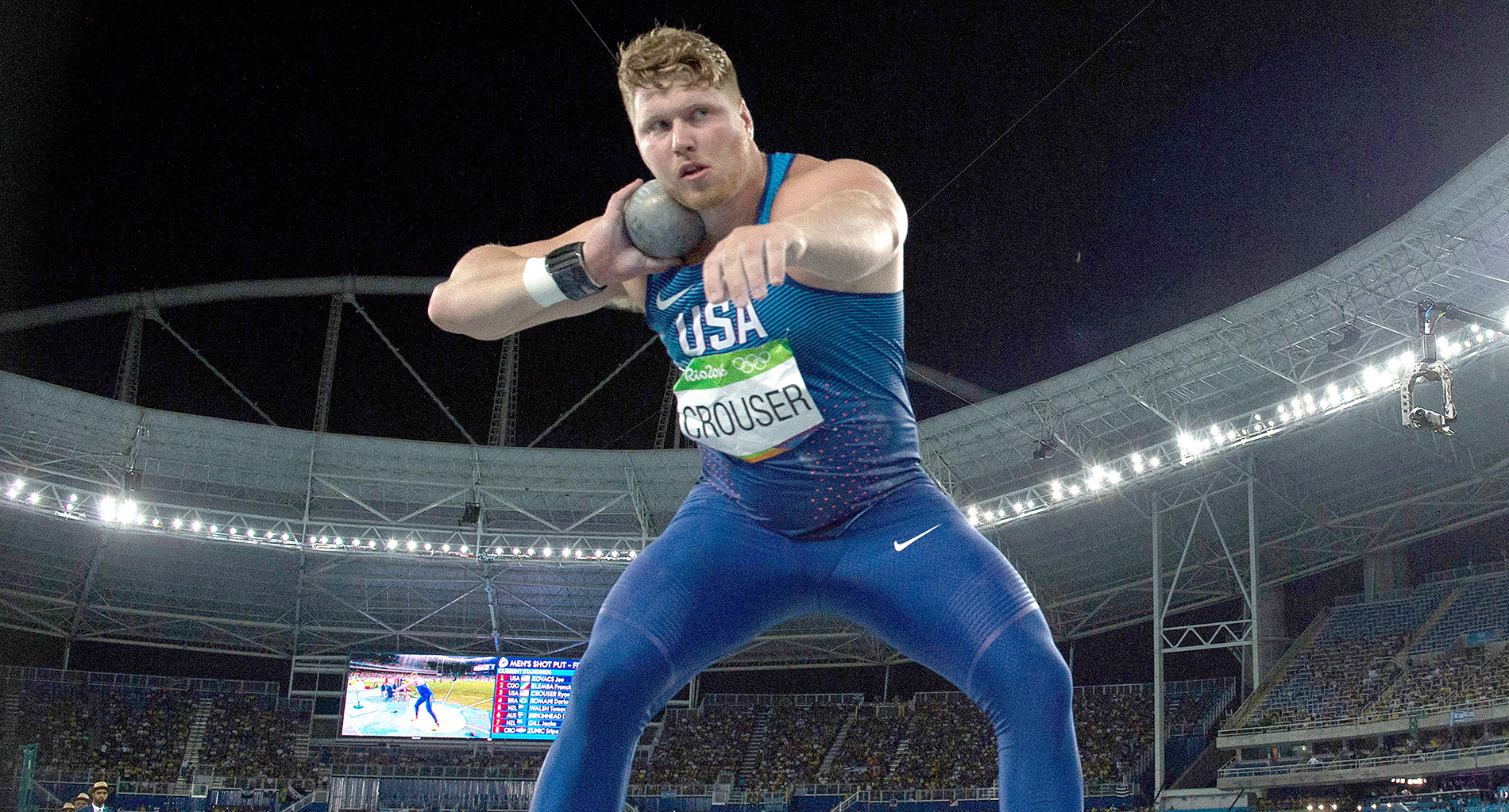 Amid changes Ryan Crouser inches closer to world record