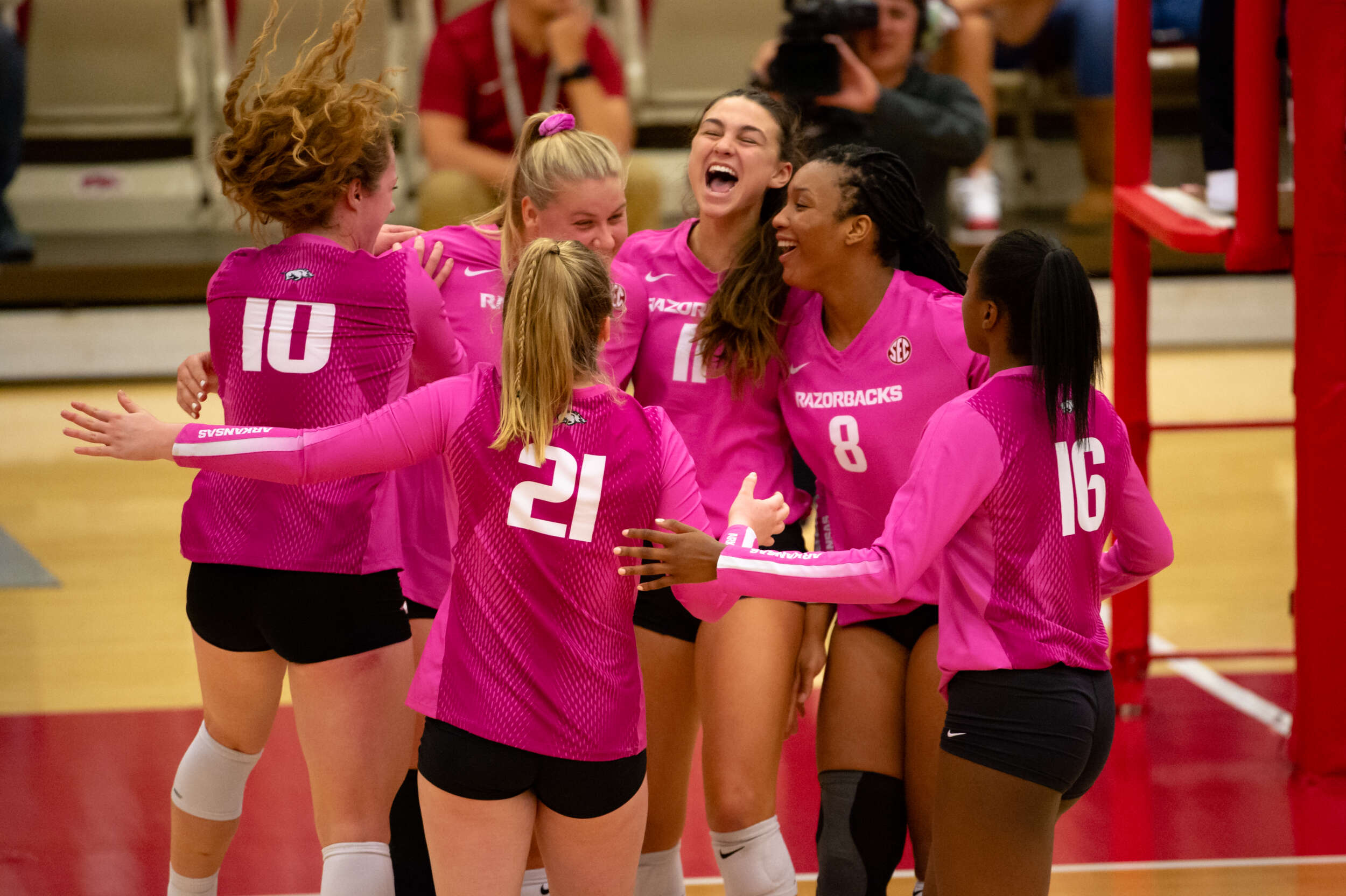 Sec Announces Adjusted Volleyball Schedule Arkansas Razorbacks