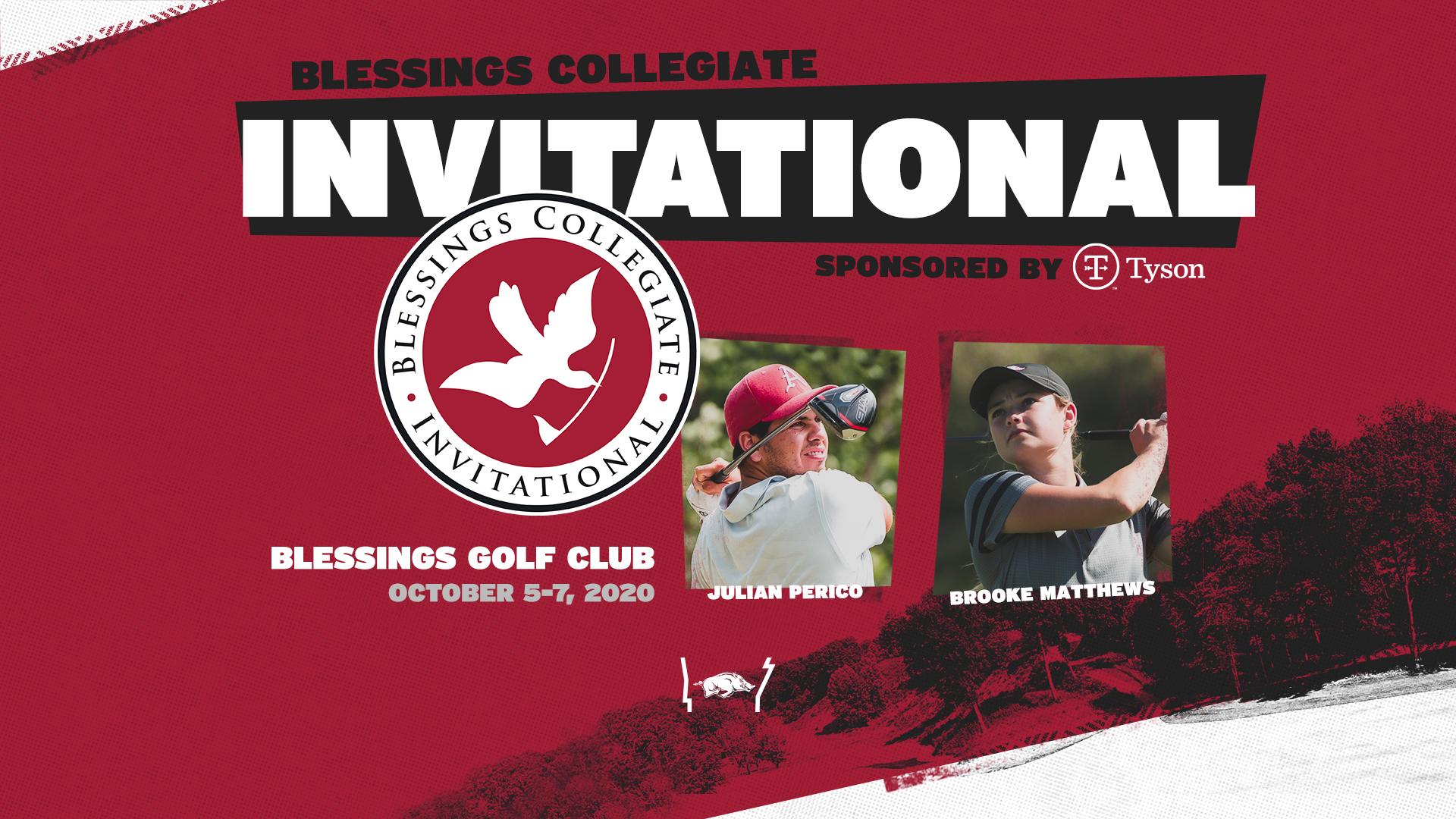 Arkansas, GOLF Channel Announces Blessings Collegiate Invitational for Oct. 5-7