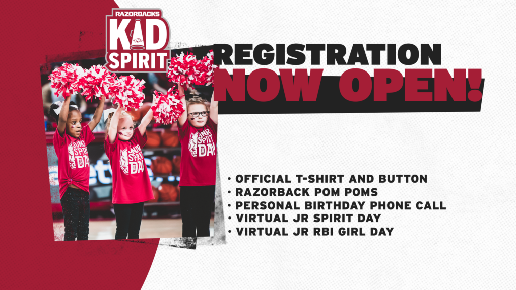 Kids Spirit Program Registration Now Open