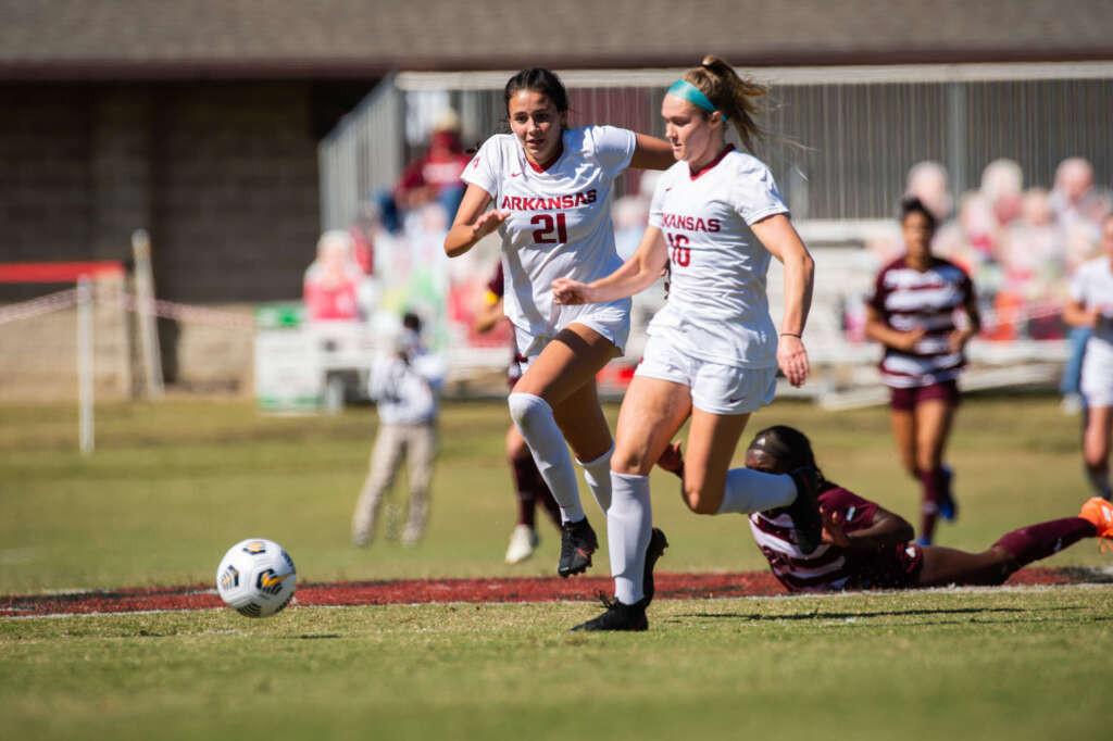 No. 3 Razorback Soccer faces road test at Alabama