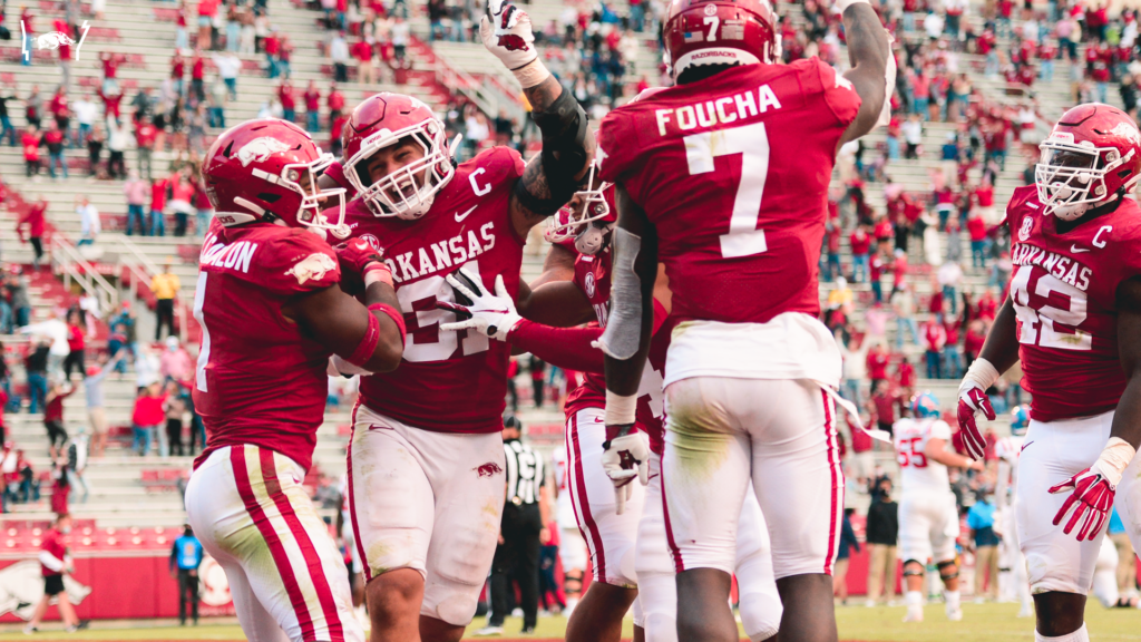 Defense Dominates, Arkansas Overpowers Ole Miss, 33-21