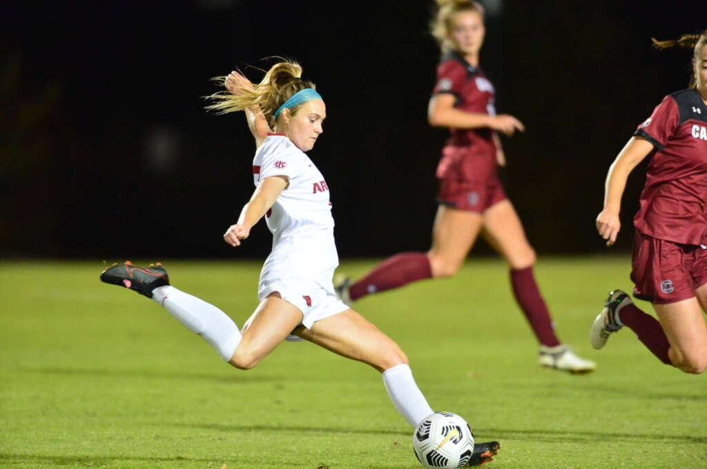 No. 3 Razorback Soccer falls to No. 15 South Carolina, 2-1