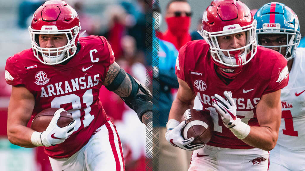 Morgan and Clark Receive SEC Weekly Awards