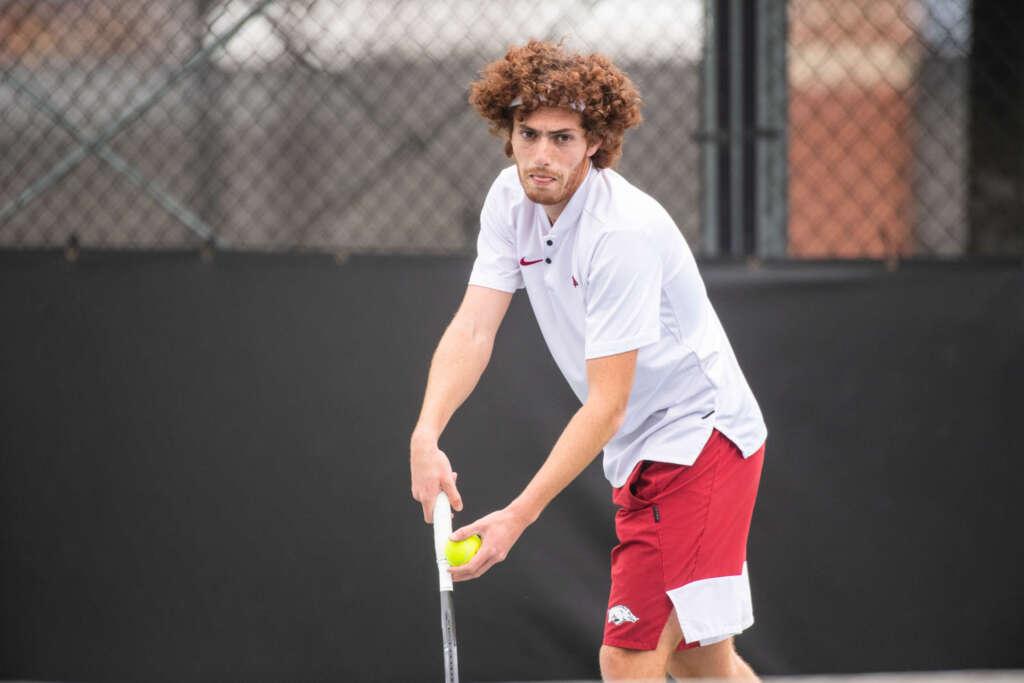 Razorback Men's Tennis sends four to quarterfinals in Baton Rouge