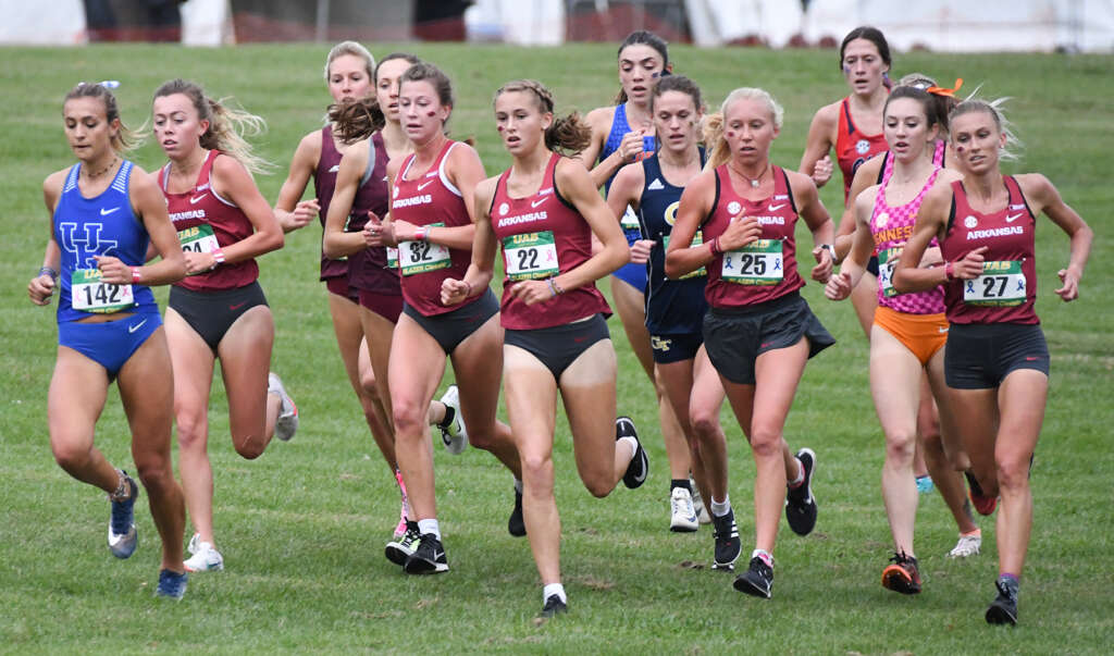 No. 1 Razorbacks Favored For Eighth Consecutive SEC Title
