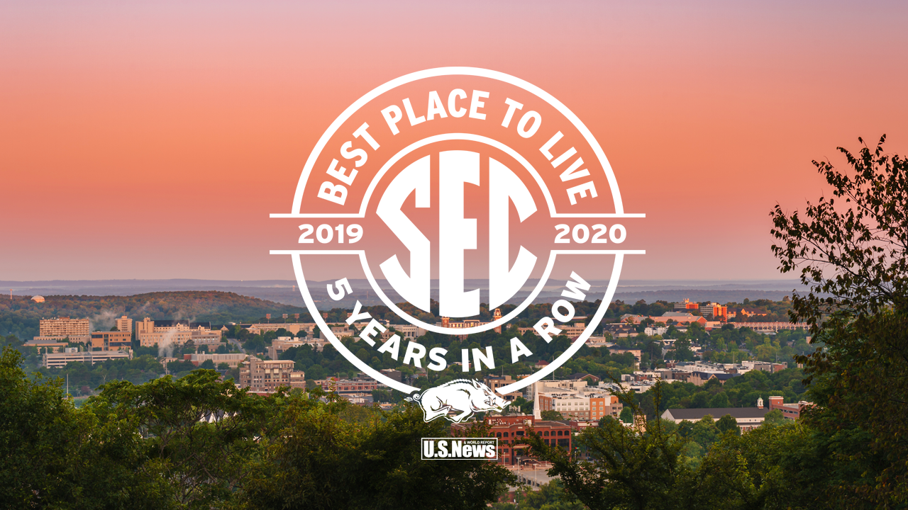 Fayetteville Named Best Place to Live in the SEC for 5th Straight Year