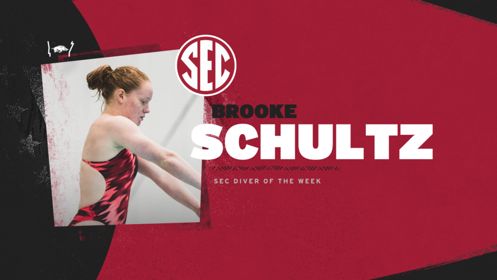 Brooke Schultz Grabs Second Diver of the Week Award of the year
