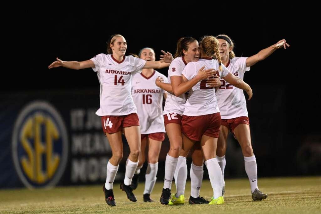 No. 6 Soccer downs No. 10 South Carolina, 2-1, advances to SEC Tournament Championship