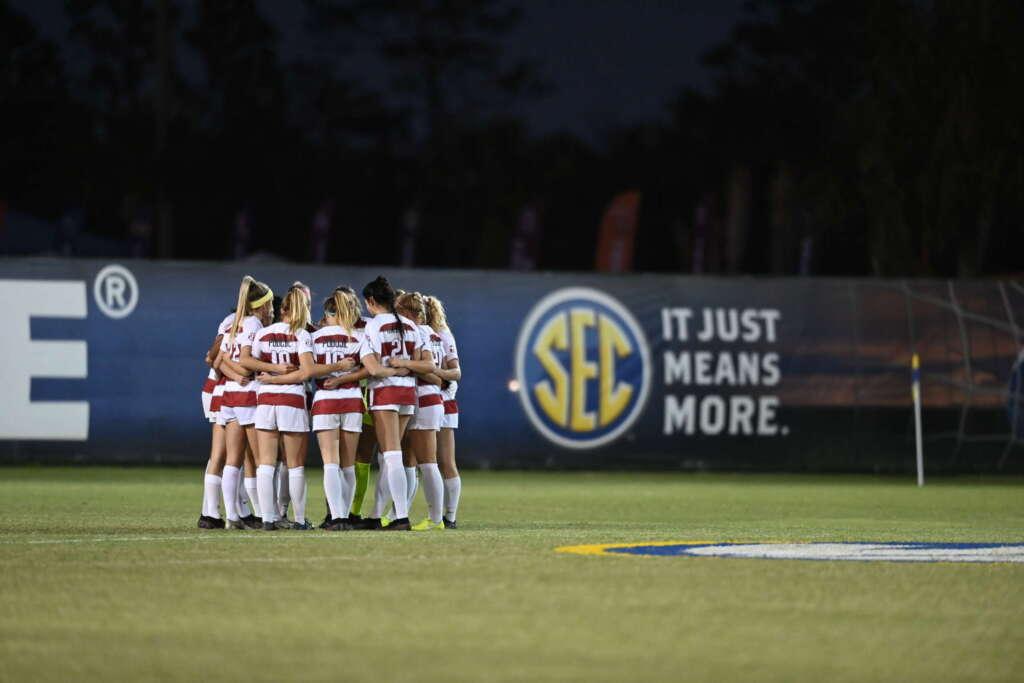 No. 6 Soccer to take on No. 10 South Carolina in SEC Tournament semifinals