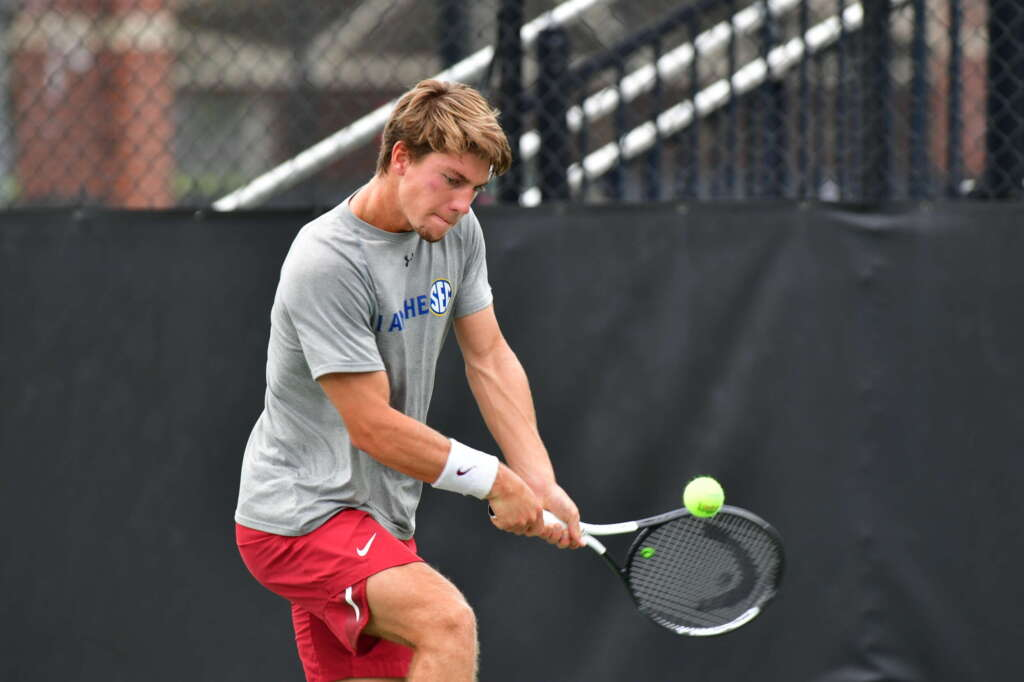 Reco, Rousset advance to quarters of doubles main draw at NWA Legacy Bank Tennis Series