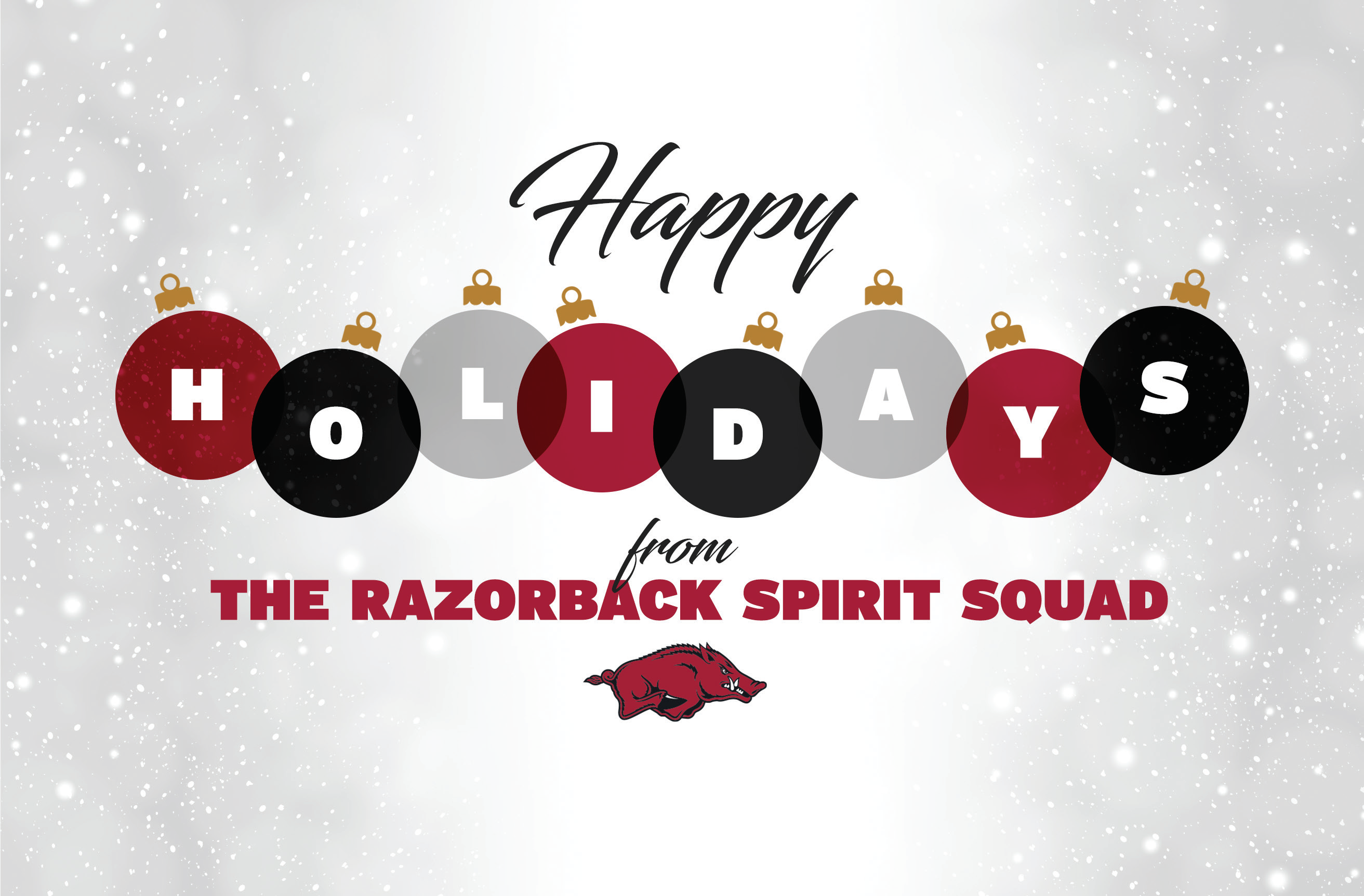 Send A Holiday Card To Razorback Loved Ones