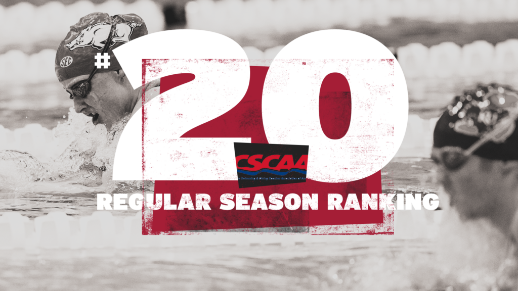 Arkansas Finishes Regular Season Ranked 20th