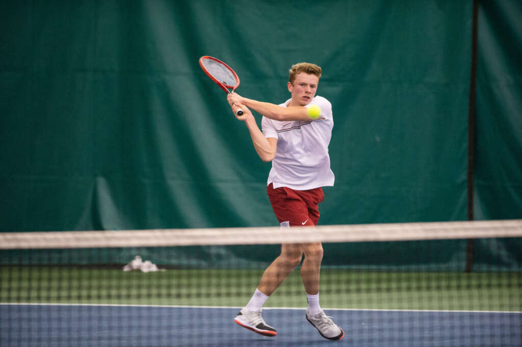 Men's Tennis Competing in Final ITA Event of the Fall