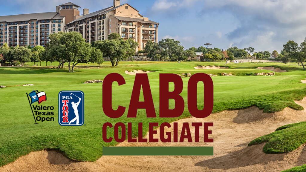 Cabo Collegiate Medalist to Get PGA TOUR Exemption for Valero Texas Open